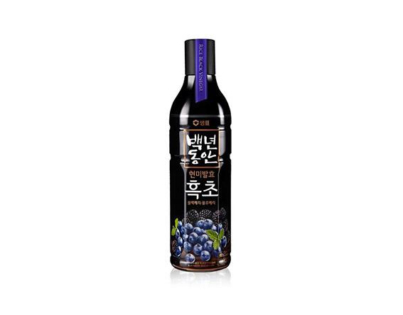Vinaigre saveur mûre myrtille